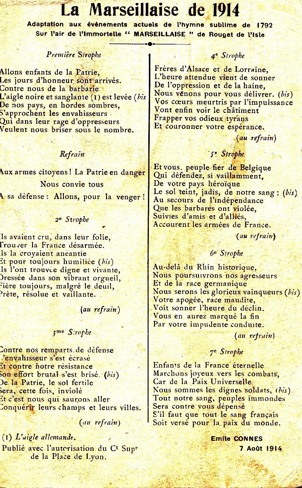 100 ans apr u00e8s  une marseillaise lyonnaise  u2013 olivier longeon